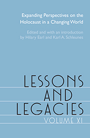 Lessons and Legacies book cover