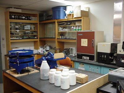 North Bay Rotary Club wet lab