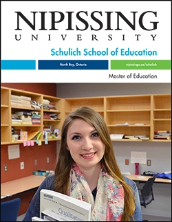 Master of Education brochure cover
