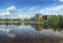 Campus Pond Panorama